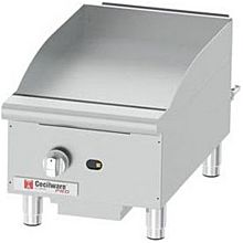 "Cecilware GCP15 15"" Gas Griddle - Manual, 1"" Steel Plate"