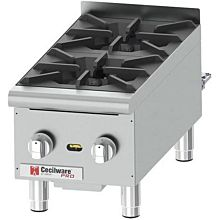 Cecilware HPCP212 44,000 Btu Gas Hotplate, Countertop, Heavy Duty