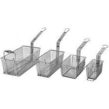 """Cecilware V180P Fryer Basket w/ Uncoated Handle & Front Hook, 16.75"""" x 8.75"""" x 6"""""""