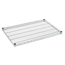 "Global C14x24 14""D x 24""W NSF Chrome Wire Shelf"