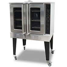 "Cookline CC100 38"" Gas Single Deck Convection Oven - 54,000 BTU"