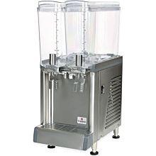 """Crathco CS-2E-16 10.5"""" Pre-Mix Cold Beverage Dispenser w/ (2) 2.4 gal Bowls, 120v"""