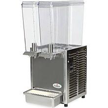 """Crathco E29-3 11.25"""" Pre-Mix Cold Beverage Dispenser w/ (2) 2.4 gal Bowls, 115v"""