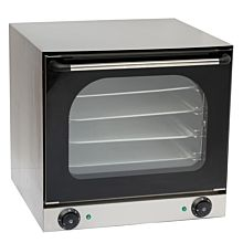 "23"" Single Deck Electric Countertop Convection Oven, 220-240V"