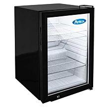 """Atosa CTD-3 17"""" Refrigerated Countertop Glass Door Display Merchandiser - 2.4 Cu. Ft."""