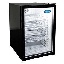 """Atosa CTD-5 21"""" Refrigerated Countertop Glass Door Display Merchandiser - 4.6 Cu. Ft."""