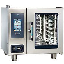 "Alto-Shaam CTP6-10G 36"" Combitherm Proformance 120V Natural Gas Boiler-Free 7 Pan Combi Oven/Steamer"