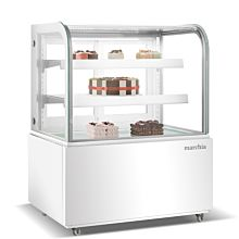 """36"""" White refrigerated Bakery Display case"""