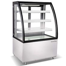 """Marchia MBT36 36"""" Curved Glass Refrigerated Bakery Display Case, High Volume"""
