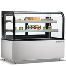 """Marchia MB60 60"""" Refrigerated Bakery Display Case - Front View"""
