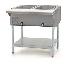 """Eagle Group HT2 33"""" Gas Steam Table with Open Base"""