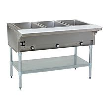 """Eagle Group HT3 48"""" Gas Steam Table with Open Base"""