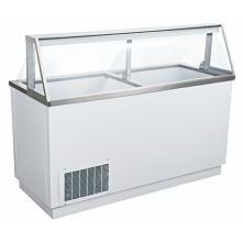 """Coldline DPC68 68"""" Ice Cream Dipping Cabinet - (12) Tub Capacity"""