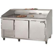 "Leader DR72 72"" Refrigerated Dough Retarder Table"