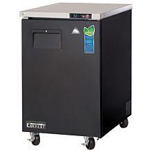 "Everest EBB23 24"" One Solid Swing Door Back Bar Refrigerator"