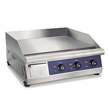 "Prepline EGD30 30"" Electric Thermostatic Countertop Griddle - 220v/240v"