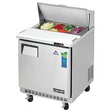 "Everest EPBNR1 27"" Back Mount Sandwich Prep Table Refrigerator"