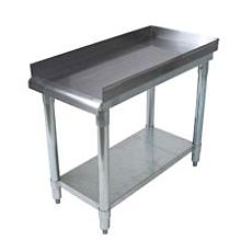 "24""D x 12""L Stainless Steel Commercial Equipment Stand"