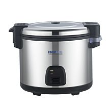 """Prepline ERC60 18"""" Electric Rice Cooker and Warmer 60 Cups Cooked / 30 Cups Uncooked Rice - 120V/1550W"""