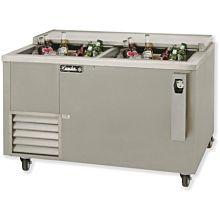 """Leader ESBC48 48"""" Deep Well Beer Cooler with 2 Door, Stainless Steel, ETL-S"""