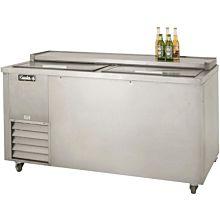 """Leader ESBC60 60"""" Deep Well Beer Cooler with 2 Door, Stainless Steel, ETL-S"""