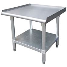 "30""D x 18""L Stainless Steel Commercial Equipment Stand"