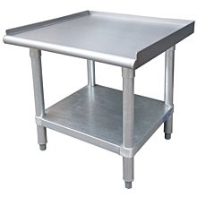 "30""D x 24""L Stainless Steel Commercial Equipment Stand"