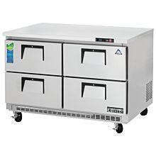 "Everest ETBR2-D4 47"" Four Drawer Undercounter Refrigerator"