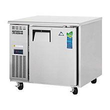 """Everest ETR1-24 36"""" Shallow 24"""" Depth, Undercounter Worktop Refrigerator"""