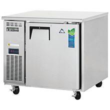 """Everest ETR1 35"""" Single Solid Door Side Mount-Undercounter Refrigerator"""