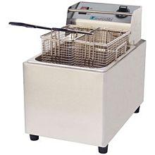 Eurodib SFE01860D-220 3,200 Watt Electric Countertop Fryer, 240v, Double Basket, 16 lb.