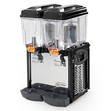 Eurodib CD2J Cofrimell Juice Dispenser w/ (2) 3.2 Gallon Polycarbonate Tank