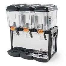 Eurodib CD3J Cofrimell Juice Dispenser w/ (3) 3 Gallon Polycarbonate Tank