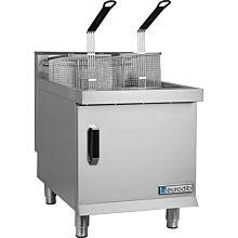 Eurodib CF30 30 lb. Natural Gas Countertop Fryer - 53,000 BTU