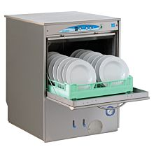 Eurodib F92EKDPS Lamber High Temp Rack Undercounter Dishwasher, (30) Racks/hr, 208/240v/1ph