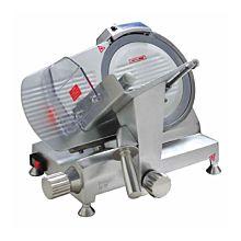 "Eurodib HBS-250L Manual Meat Slicer w/ 10"" Blade, Belt Driven, Aluminum, 1/5 hp"