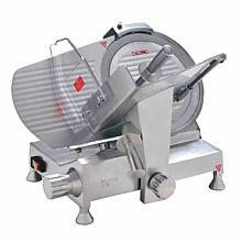 "Eurodib HBS-300L Manual Meat Slicer w/ 12"" Blade, Belt Driven, Aluminum, 1/3 hp"
