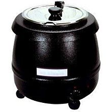 Eurodib SB-6000 475 Watt Electric Soup Kettle / Warmer, 10.5 Quart, Economy