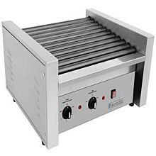 Eurodib SFE01610 1,430 Watt Electric Hot Dog Roller Grill, 30 Capacity