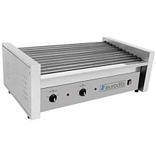 Eurodib SFE01630 1,760 Watt Electric Hot Dog Roller Grill, 50 Capacity