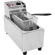 Eurodib SFE01820 1,800 Watt Electric Countertop Fryer, 120v, 6 lb.