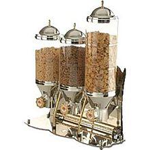 Eurodib SUNRISE2 - 2 Tank Cereal & Nuts Dispenser, 2 Gallon Capacity