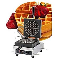 Eurodib Weccccas, Round Waffle Maker, Single W/ 90 Opening, (1) 7-1/3 Inch Capacity
