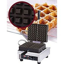 Eurodib Wecchcas, Lige Waffle Maker, Single W/ 90 Opening, (2) 4 Inch X 7 Inch Capacity