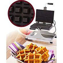 Eurodib Weccieat, Lige Waffle Maker, Swivel, (4 To 6) 4  13 Waffle Capacity