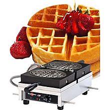 Eurodib Wecdcaas, Round Waffle Maker, Single W/ 180 Opening, (1) 7-1/3 Inch Capacity