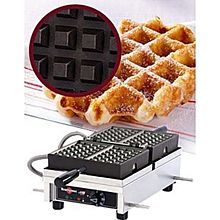 Eurodib Wecdhaat, Lige Waffle Maker, Single W/ 180 Opening, (2) 4 Inch X 7 Inch Capacity