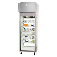 Migali Scientific EVOx-1-PT Glass Door Clean Room Pass Thru Pharmacy Refrigerator - 20.2 Cu. Ft.