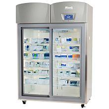 Migali Scientific EVOx-2RG-S Two Slide Door Upright Pharmacy Refrigerator - 44.9 Cu. Ft.