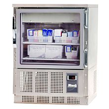 Migali Scientific EVOx-2-PT Two Glass Door Pass Thru Pharmacy Refrigerator